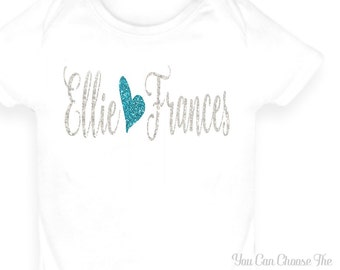 Custom Baby Name Onesie