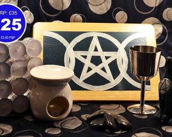 Pagan/Wicca Altar Kit - Basic
