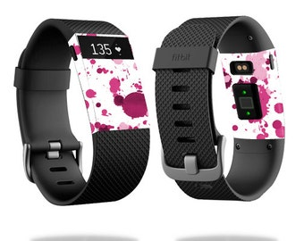Skin Decal Wrap for Fitbit Blaze, Charge, Charge HR, Surge Watch cover sticker Pink Drops