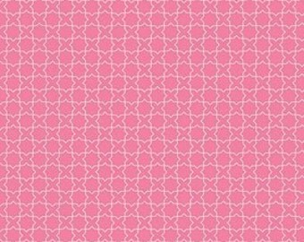 Alice in Wonderland Fabric - Pink Fabric by the Yard - Riley Blake - Wonderland Labryinth Pink - Modern quilt fabric - Fat Quarter - On Sale