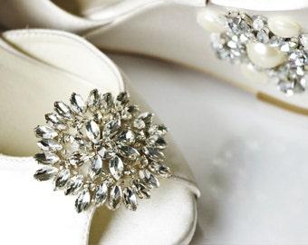 Shoe Clips , Bridal Shoe Clips, Rhinestone shoe clips,Shoe Clips,wedding shoe clips, Wedding Shoes, vintage wedding