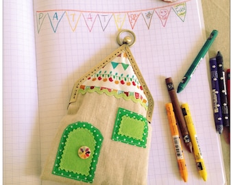House bag 9 - handmade by PatateMaison-Kids-Gift-lovely sweet home