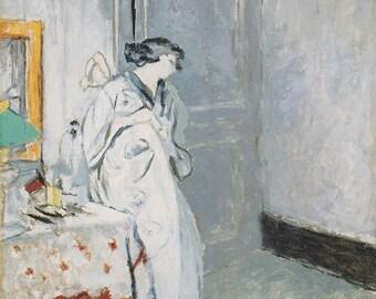 Edouard Vuillard:  The Blue Room. Fine Art Print/Poster. (002199)