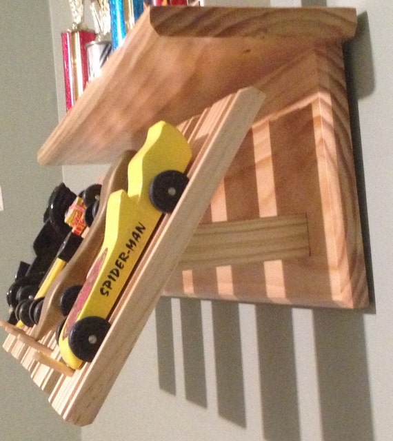 Derby Car Display Wall Shelf Pinewood Cubscout By 2stewart5904