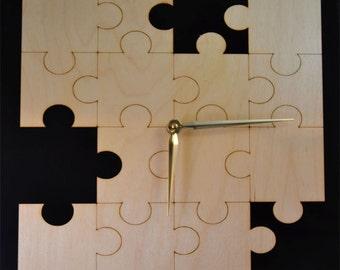 Laser Cut Clocks (Puzzle)