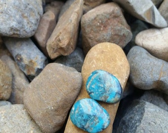 Turquoise Cabochon Handmade perfect for earrings