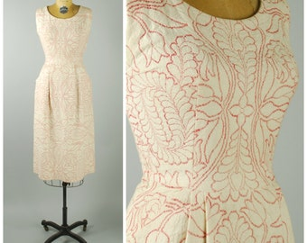 Fair Maiden Dress • 1950s Wiggle Dress