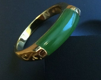 "Canadian Jade Ring, available in Sterling or Vermeil - 15% off - Promo Code ""FATHERS"""