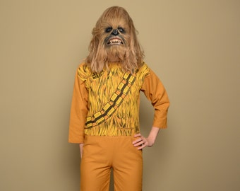 vintage Chewbacca costume 1977 Star Wars Ben Cooper Brooklyn youth large adult XS petite Chewy cosplay