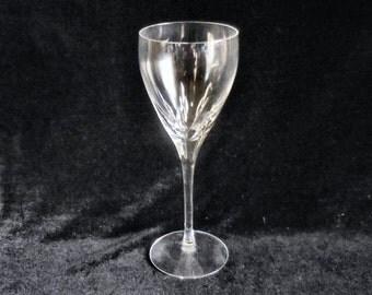 Lenox Cut Crystal Wine Goblet in the Firelight pattern