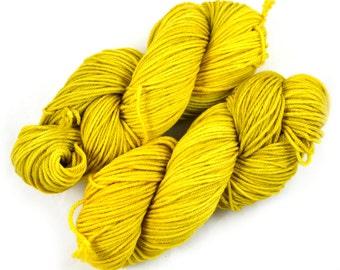 Sol - Hand Dyed Worsted Weight Yarn - Superwash Merino