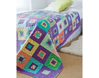Grab and Sew Quilt Pattern Download 803134