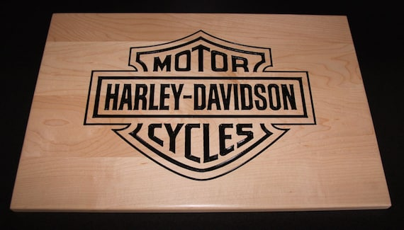 Harley davidson motorcycle logo wall decor by for Harley davidson decorations for home