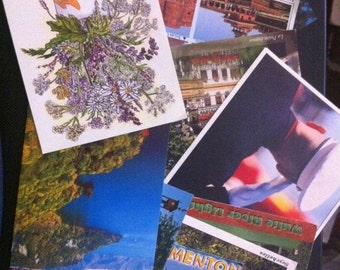 SaLE sALe SaLE Postcard Collection, 50 Random Postcards, Collection of Postcards