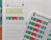 20 colorful To Go label stickers for Erin Condren Life Planner Filofax Gillio  #SWM00223