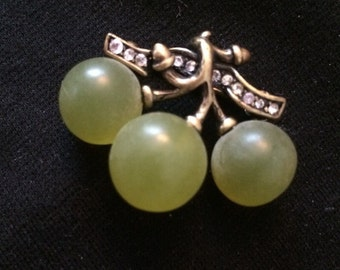 Joan Rivers Grape Cluster Brooch / Pin