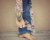 Colorful Stacked Anklet, Peace Sign Barefoot Sandals, Foot Jewelry, Bottomless Shoes, Hemp Barefoot Jewelry, Beaded Ankle Body Jewelry