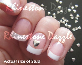 5mm gold star studs nail studs metallic nail studs 3d nail art 4mm silver heart nail studs 3d nail design nail art silver hearts metal studs silver nail art metal hearts nail decoration prinsesfo Images