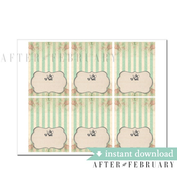 template for place cards 6 per sheet - editable place card fillable pdf mermaid place card