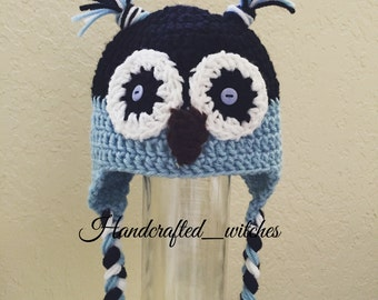 Crochet Owl Hats for Babies and Toddlers