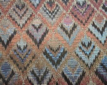 Vintage Metallic Fabric - 1 yard
