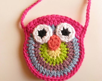 Toddler Preschooler Owl Purse