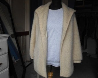Vintage Alafoss Ice Wool Coat - 80s/90s