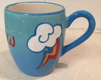 My Little Pony Rainbow Dash Cutie Mark Mug