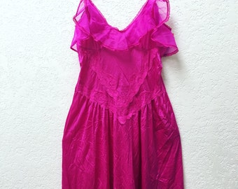 80s Pink Nightgown