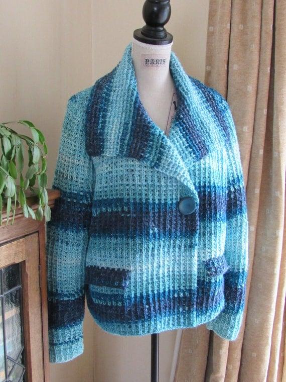 Woodland Jacket Pattern Tunisian Crochet