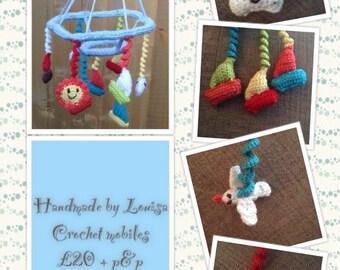 Crochet mobiles
