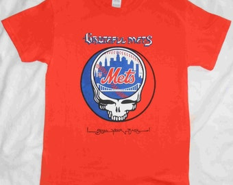 Grateful Dead NY Mets Stealie Shirt