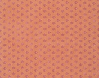 True Colors-Lady Bugs PWTC027 Nectarine by Tula Pink of Free Spirit  Half Yard
