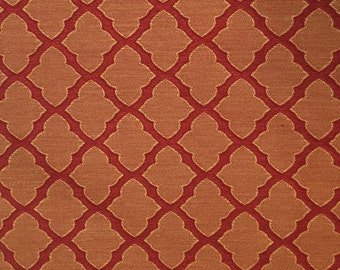Red - Moroccan Upholstery Fabric - Upholstery Fabric - Drapery Fabric