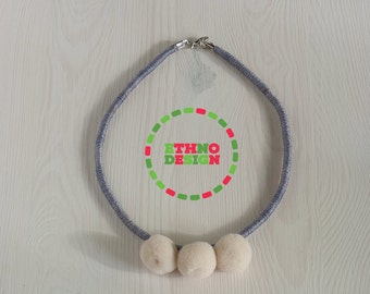 "Little POM - simple, ""small"" yarn jewelry"