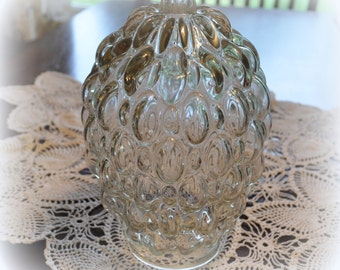 Vintage Bubbled Glass Pendant Lamp Shade