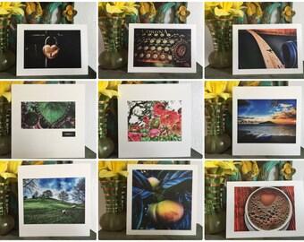 Photo card set with envelopes