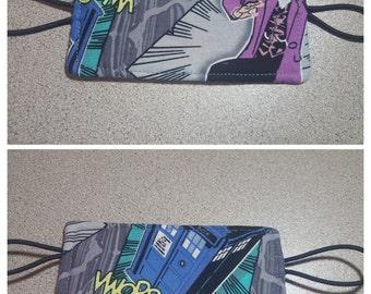 Doctor Who Nursery Door Muff Silencer Jammer / Dr. Who Cyber Man Dalek Police Box