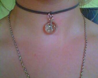 Resin Choker Necklace