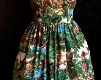 Jurassic Dress