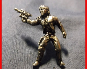 Star Wars - Mini Han Solo fine pewter pin