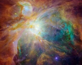 Dramatic Hubble image of the Orion Nebula