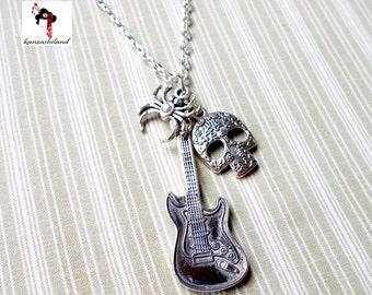 Hanging Spider-Guitar Hard Rock
