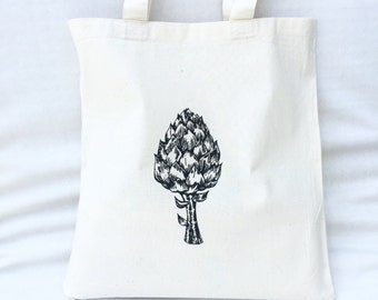 TOTE Bag - Cotton Tote Bag - Shopping bag - Artichoke