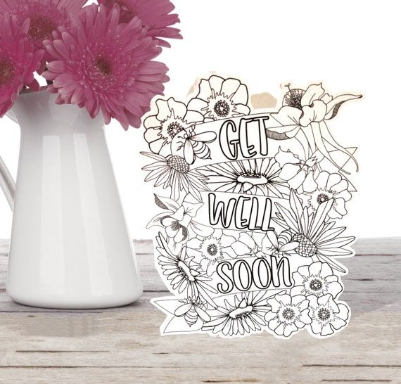 Adult card get well
