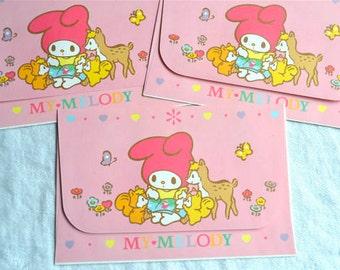 My Melody Stationery Envelopes - 1988 Sanrio - 3
