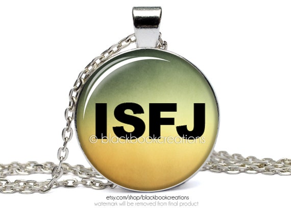 isfj myers briggs personality type necklace mbti handmade. Black Bedroom Furniture Sets. Home Design Ideas