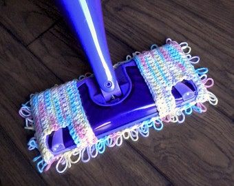 Dual Jet Swiffer Mop Cover Crochet Pattern