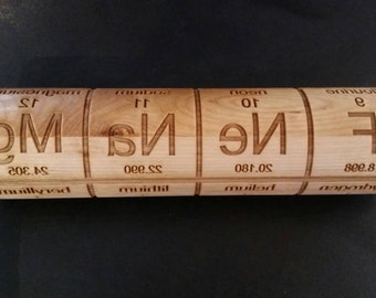 Periodic Table - Rolling Pin