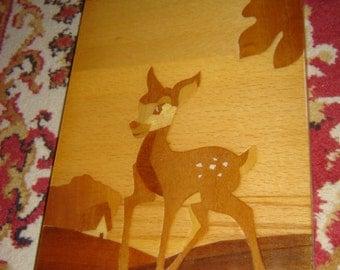 Vintage marquetry